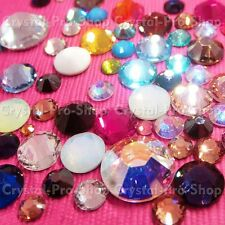 144 Genuine Swarovski Hotfix Iron On 12ss Rhinestone Crystal 3.2mm ss12 Various