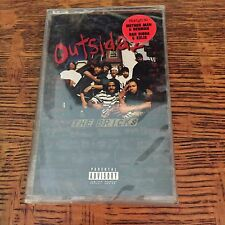 OUTSIDAZ - THE BRICKS 2001 Sealed Cassette RARE hip-hop method man redman RAP