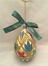 Waterford Holiday Heirlooms Ornament Lismore Egg 103579 Nostalgic Limited Series