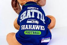 Seattle Seahawks Dog Shirt NFL Football Officially Licensed Quality Product