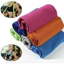 Instant Cooling Jogging Enduring #B Ice Cold Chilly Sports Pad Running Towel Gym