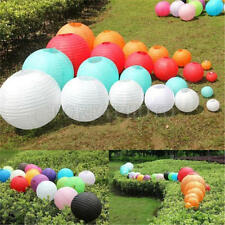 Multicolor Chinese Paper Round Lanterns Wedding Hanging Party Decor Decoration