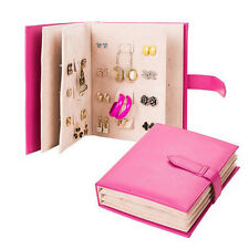 Creative Jewelry Earrings Collection Book Jewelry Display Rack Storage Holder