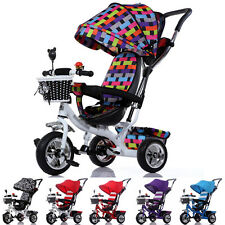 Child Pushchair Zebra Tricycle Baby Pram Z16B8 Toddler Kids Trike Bike Strollers