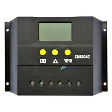 30A 60A LCD display Solar Charge Controller Regulator 12V 24V Light and timer TH