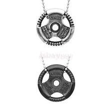 Mens Fashion Fit Stainless Steel Steering Wheel Chain Pendant Necklace Jewelry