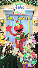 Sesame Street Elmo's World Happy Holidays Kelly Rica 2002 VHS