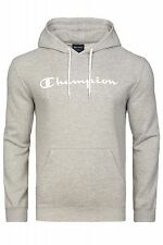NEW Champion Pullover Mens Hooded Pullover Hoodie Grey 210552-357 Sweater