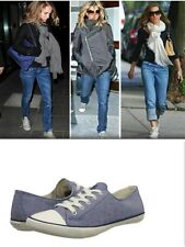 Ralph Lauren Women's Polo Polly Canvas Shoes - Chambray Blue Size UK 5 RRP £65