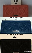 BILLABONG WALLET PURSE CLUTCH NEW OUTLANDER Sweet Cheeks INDIGO Black Faux Lethr