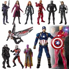 Super Hero The Avengers Movie Captain America Iron Man Action Model Figure Gifts