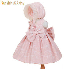 Big Bow Baby Party Dresses Girls Infant Christening Gowns Girls Birthday Dress