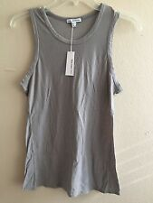 JAMES PERSE WOMEN'S CASUAL MUSCLE TANK TOP, SHADOW: STYLE #WCMH3306CU-Sz.3/LARGE