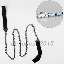 New Outdoor High Limb Rope Chain Saw Manual Cutter Trimming Prunning Chainsaws