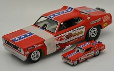 Tom McEwen The Mongoose Funny Car 1:24 & 1:64 set Hot Wheels Legends..NEW NHRA
