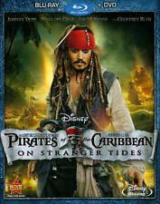 Pirates of the Caribbean: On Stranger Tides Blu-ray/DVD, 2011, 2-Disc Set