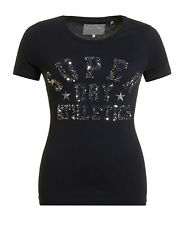 New Womens Superdry Superdry Star Athlsparkle Entry T-Shirt Eclipse Navy