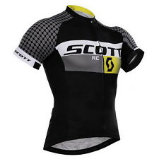 Cycling Road Bike Bicycle Team Clothing Jersey Shirts Tops Riding Sport Wear 75