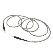 Outstanding 10ft Sturdy Low Noise Electric Guitar &Bass Instrument Cable-Braided