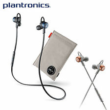 Plantronics Backbeat Go 3 Bluetooth Wireless Earbud Headphones with Charge Case