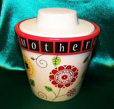 NEW Groovy Garden MOTHER Floral Tealight Candle Holder & Planter, CHRISTMAS SALE