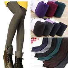 Hot Women Lady Winter Skinny Slim Stretch Leggings Thick Warm Cotton Pants one