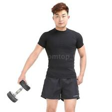 Polyester Men Sports Shorts  Casual Trousers Jogging Running Gym Pants New C7O5