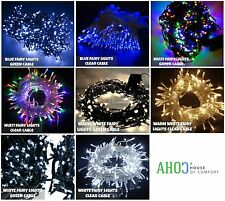 7M 100 LED Christmas Fairy String Lights Indoor Outdoor Tree Decoration Xmas