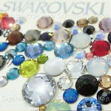 ss12 Genuine Swarovski ( NO Hotfix ) Crystal FLATBACK Rhinestone 12ss 3.2mm set7