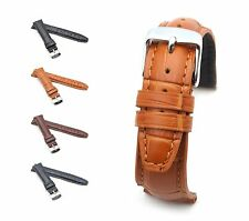 BOB Alligator Style Watch Band/Strap for IWC, 18-19 mm, 4 colors, new!