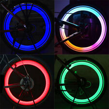 Safety Bike Bicycle Cycling Car Wheel Tire Tyre LED Spoke Light Lamp Convenient