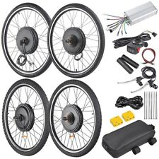 "48V1000W 26"" Front/Rear Wheel Electric Bicycle Motor Kit E-Bike Conversion Kit"