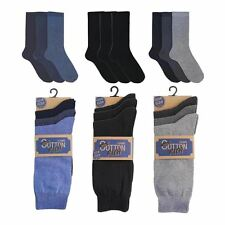 Mens RJM Cotton Rich Ankle Socks One Size (UK 7-11) 3 Pairs Style SK147