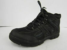 MEN'S UNBRANDED BLACK LACE UP ANKLE BOOTS STYLE: A3032