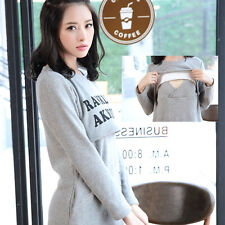 Cotton Maternity Clothes Long Sleeves Double Layers Breastfeeding  Nursing Tops