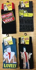Mens Socks with Only Fools and Horses detail