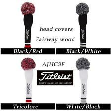 Titleist Fairway wood Knitted Headcover AJHC3F 4color 2013 JAPAN Limited