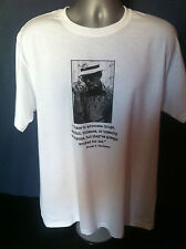 HUNTER S THOMPSON T-SHIRT Gonzo Fear Loathing Vegas Rum Diary Kerouac Ginsberg