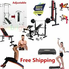 Home Gym Equipment Squat Rack Fitness Dumbbell Barbell Convenient Exercise UK