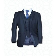 Page Boy Wedding Prom Suits in Navy Blue, Boys Dark Navy Blue Communion Suit