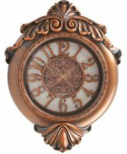 29 Inch Silent Wall Clock Bronze Vintage Retro Antique Style Wall Clock