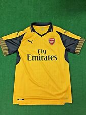 PUMA Arsenal FC Away Jersey Authentic 749714 spectra yellow-ebony US Adult Large