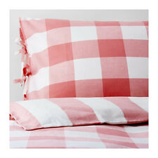 Amazing Ikea Duvet cover and pillowcase(s), pink, white