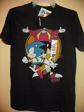 SONIC THE HEDGEHOG-MENS SIZE XS & SMALL-HOT TOPIC-LICENSED SHORT SLEEVE-NWT