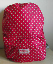 Cath Kidston Cranberry Little Spot Backpack Rucksack Bag RRP £45 - Mothers Day