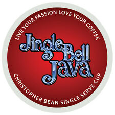 Christopher Bean Coffee JINGLE BELL JAVA SINGLE CUP K Cups - One 12 Count Box