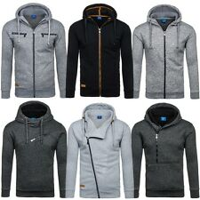 BOLF Men's Hoodie Sweater Sweat-jacket Hoody Langarm Mix 1A1 Pulli