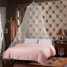 HOT Bed Mosquito Netting Mesh Canopy Princess Round Dome Bedding Net Lace