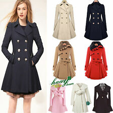 Womens Winter Warm Parka Long Coat Casual Fashion Trench Outwear Jacket Overcoat
