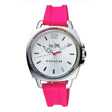 Coach Analog Casual Ladies Watch  Pink  14502529